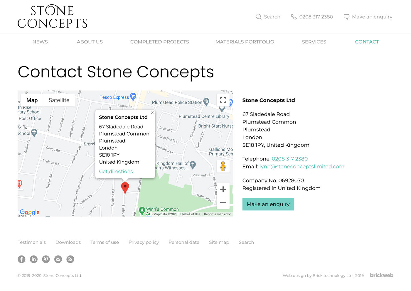 Stone Concepts Contact us