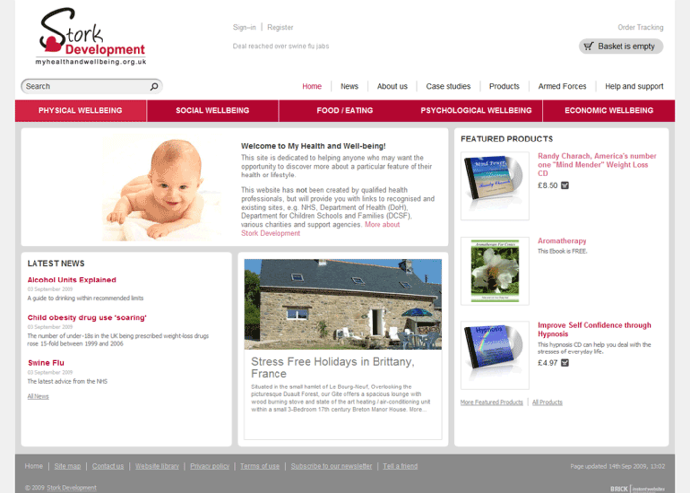 Stork Development Home page