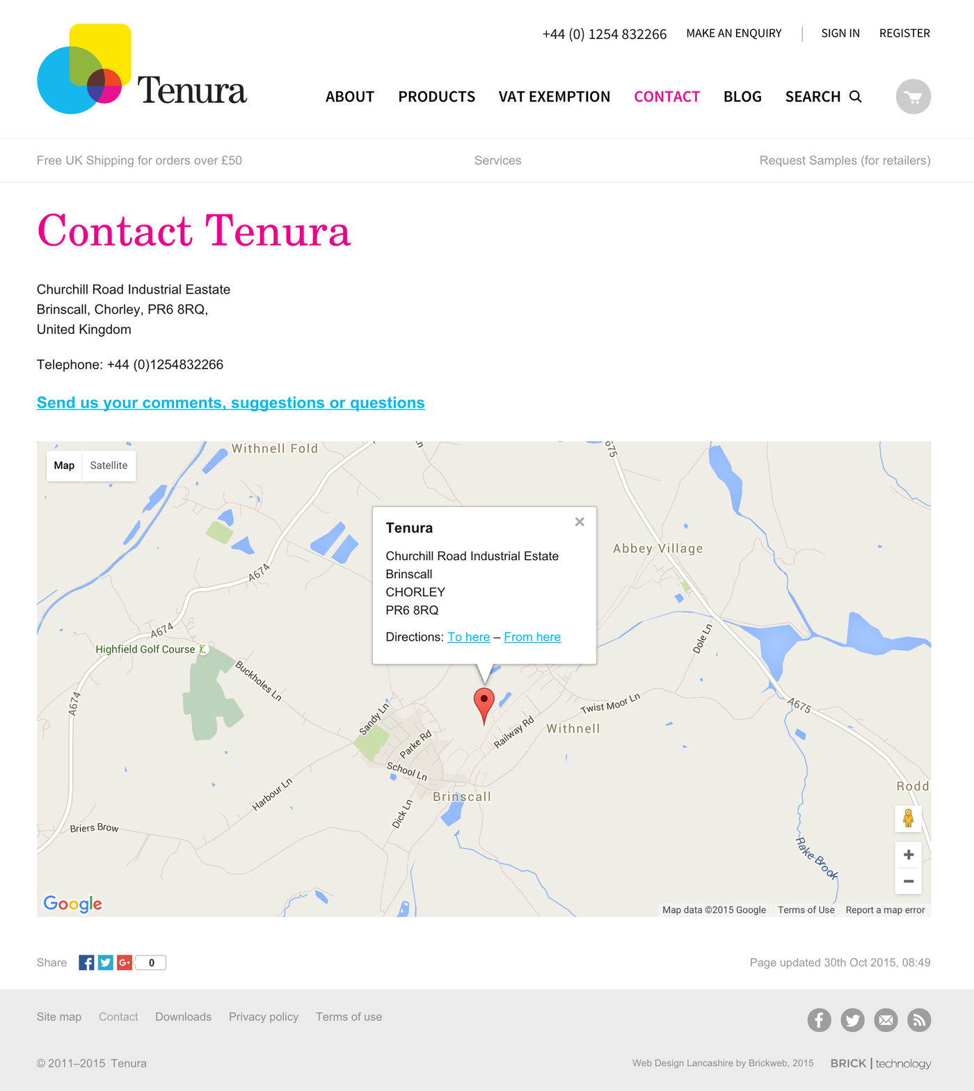 Tenura UK Contact us