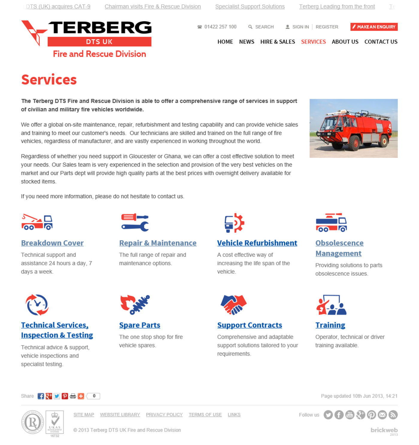 Terberg DTS UK 2013 Regular Page