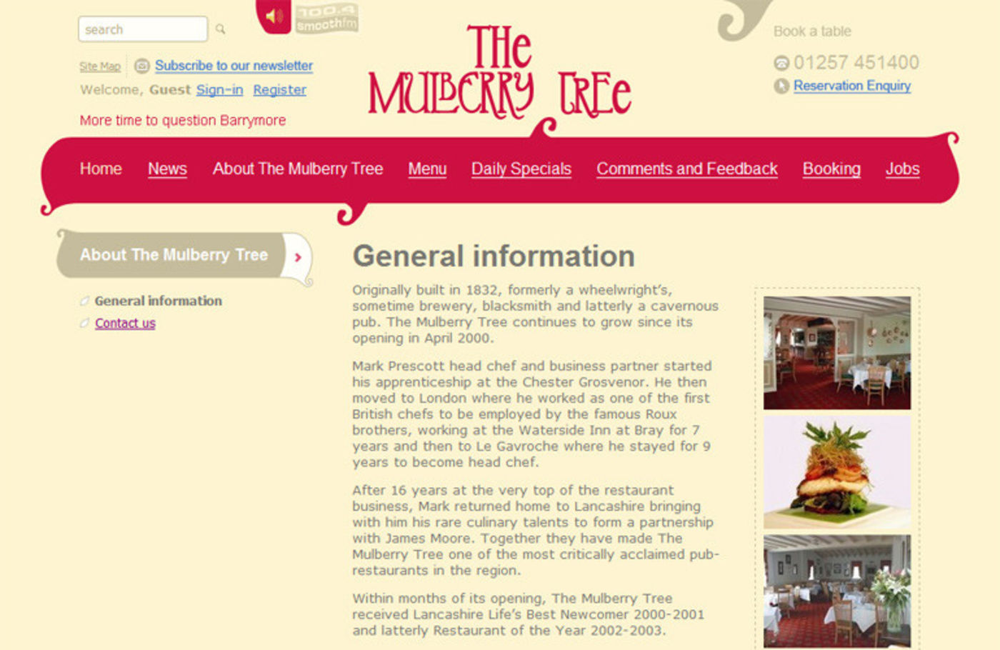 The Mulberry Tree General information