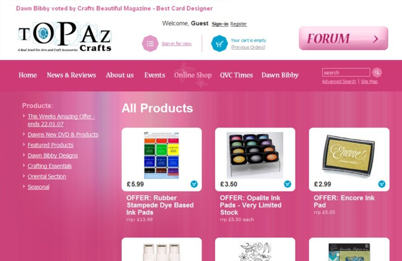 Topaz Crafts Products