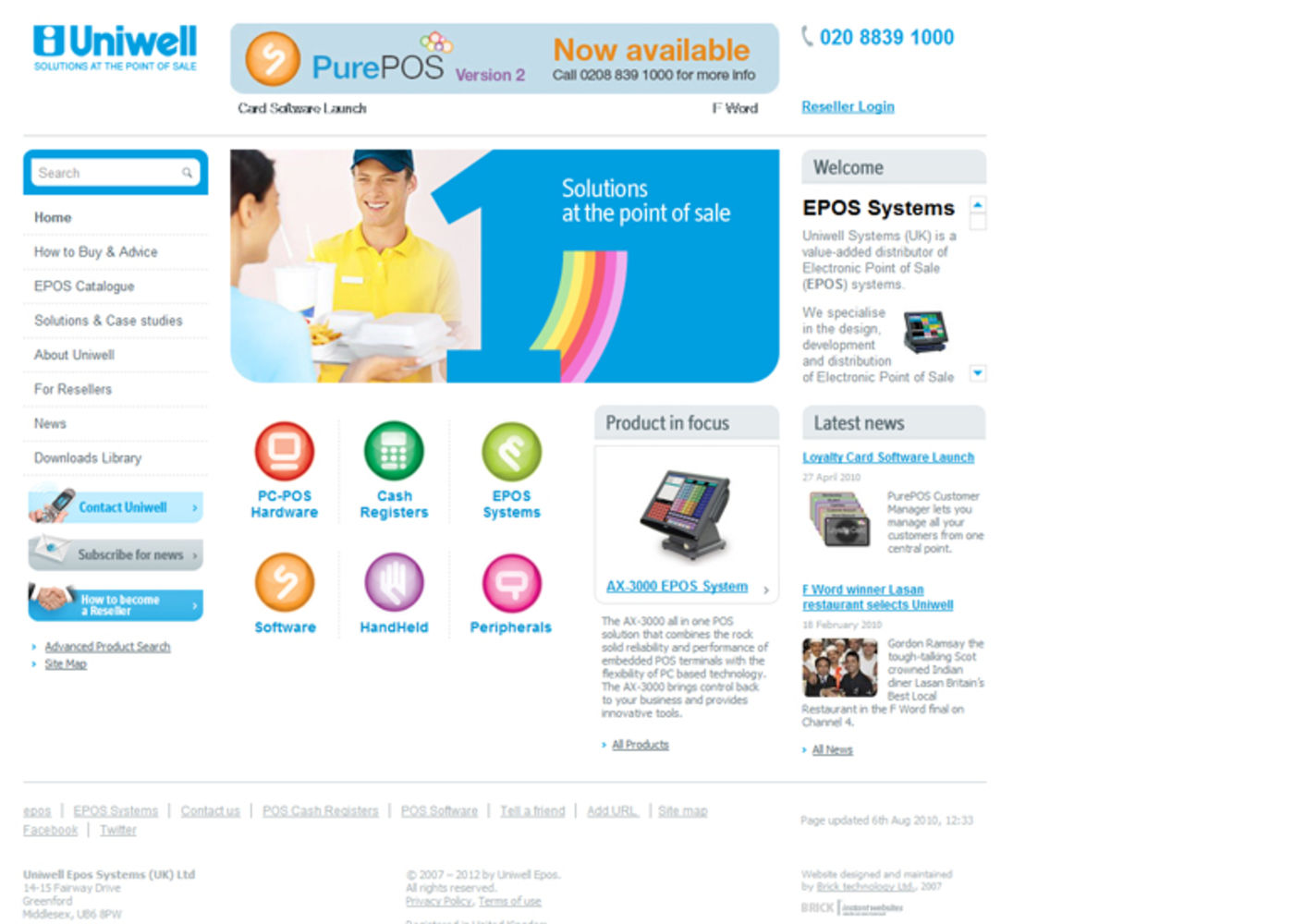 Uniwell Systems Homepage