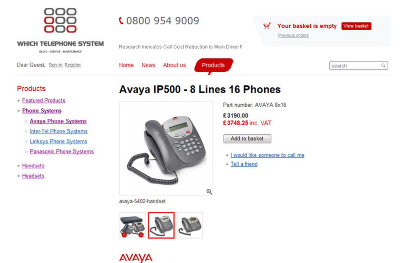Which Telephone System Product