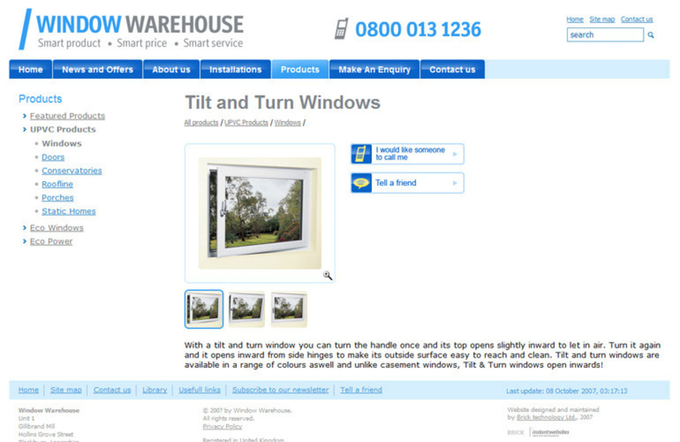 Window Warehouse Product
