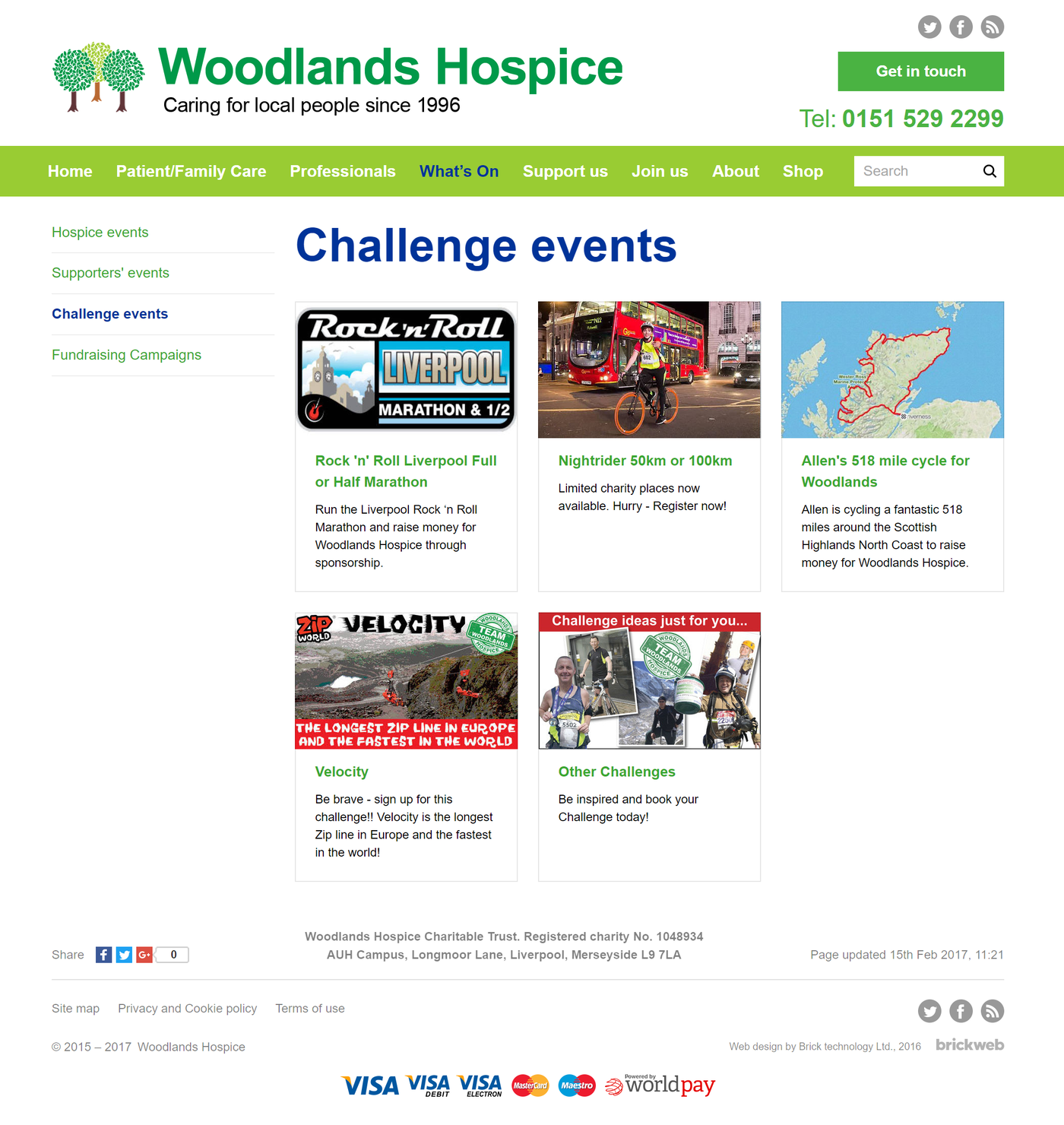 Woodlands Hospice Events