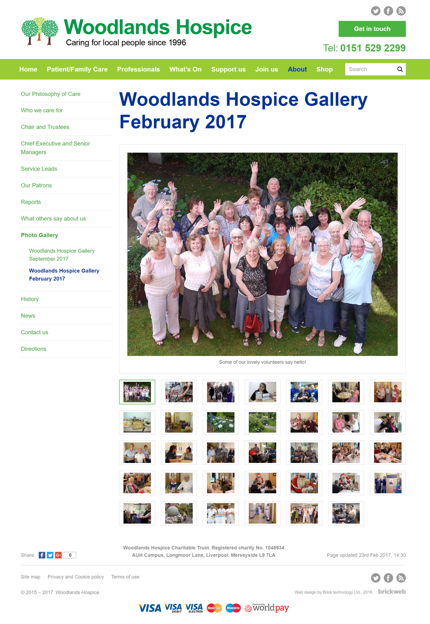 Woodlands Hospice Gallery February 2017